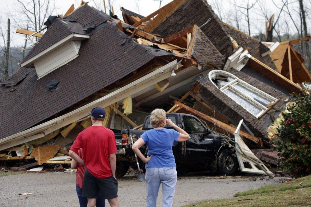 Tornado Outbreak Rips Across Deep South At Least 5 Dead The Atlanta Voice